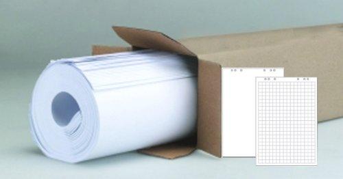 Flipchart Flip Chart Blöcke Papier - 5 x 20 Blatt im Karton - to24 Markenpapier