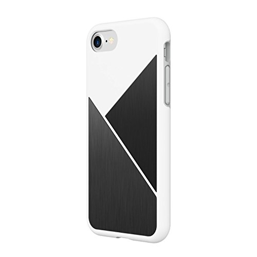iPhone 7 Case, RhinoShield [SolidSuit Marble] Heavy Duty Shock Absorbent. Ultra Thin Scratch Resistant with. 11ft Drop Protection Rugged Cover - Marmo Nero Bianco Acciaio Spazzolato