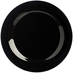 Precio y Kensington Plato, Cerámica, Unidades, Color Negro de 133