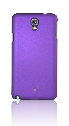 Parallel Universe Samsung Galaxy Note 3 Neo Smooth Matte Finish Premium Hard Back Cover Case- Purple  available at amazon for Rs.149
