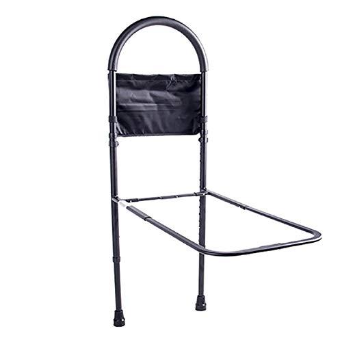 CX Best Bettgitter Krankenhaus-Sicherheitsbettgitter Älterer Haltegriff Haltegriff mit strapazierfähigen Beinen Bodenstütze und Tasche -