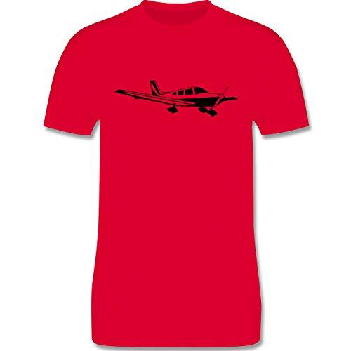 Andere Fahrzeuge - Propellerflugzeug - Herren Premium T-Shirt Rot
