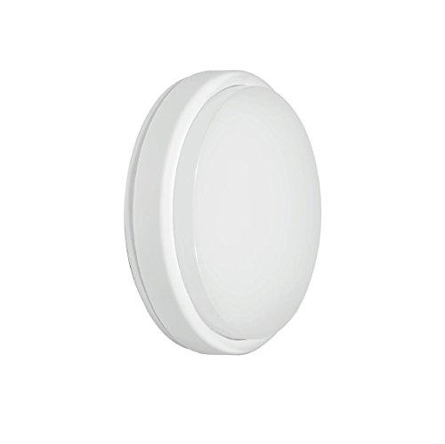 Fox Light - Hublot LED rond 18W avec détecteur de mouvement intégré 1300 Lm 4000K 240V - 601394