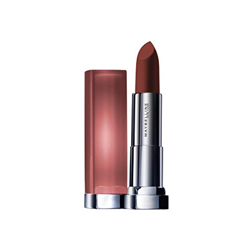 Maybelline New York Color Sensational Inti-Matte Nude Lipstick, Toasted Brown, 3.9g