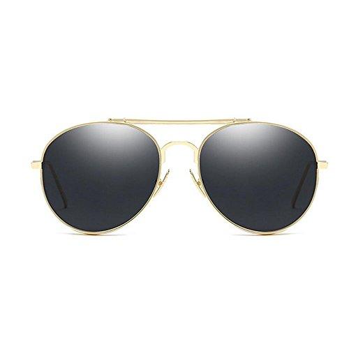 RLJJSH Sonnenbrille Frauen Polarisierte Sonnenbrille, Katze Brille Gesicht Flache Linse Metalllinse Sonnenbrille UV400 Objektiv Material Harz Sonnenbrille Sonnenbrille