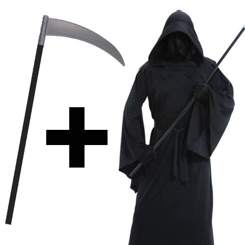 Reaper Grim Ein Kostüm - Gevatter Tod -Grim Reaper- Kostüm Gr. M/L