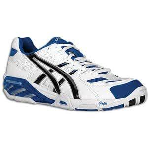 estoy sediento Generacion Ataque de nervios  Asics Gel Sensei 2 Volleyball Shoe Mens - White/Royal 8: Buy Online at Low  Prices in India - Amazon.in