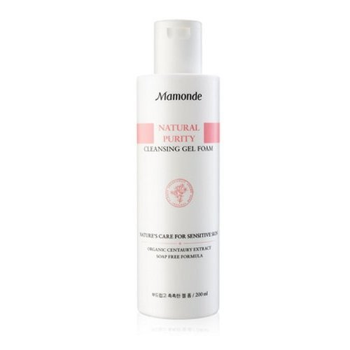 Korean cosmetics, Mamonde Natural Purity Cleansing Gel Foam 200ml by Amore Pacific [Korean Beauty]