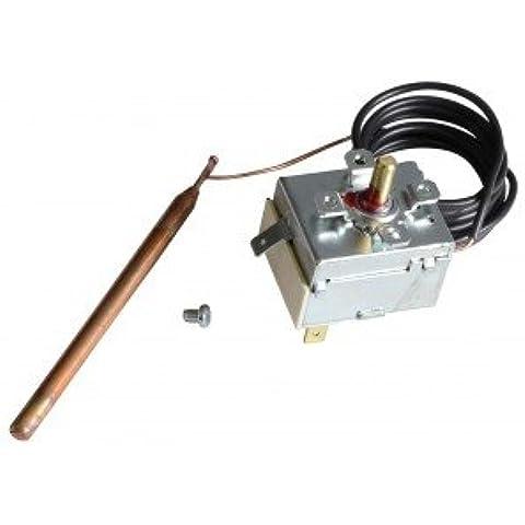 Termostato acqua di regolazione a bulbo e capillare - Tipo TR2 connessione parallela - LAMBORGHINI : 04519110