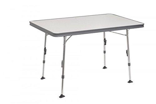 Mesa plegable Crespo de aluminio - 101x 65x 74cm