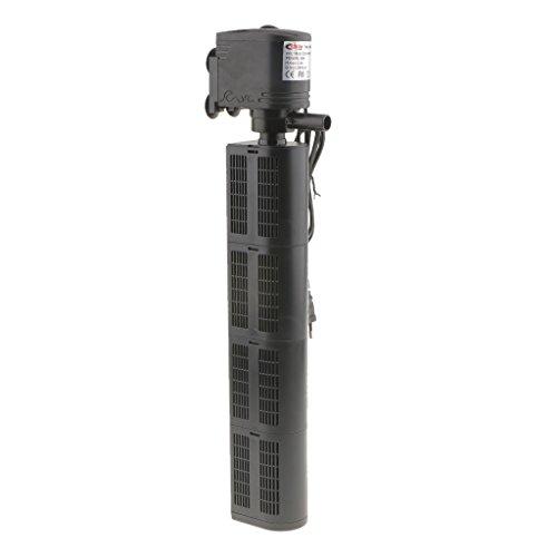 MagiDeal Filtro Interior de Acuario de Pulverización de Bomba de Agua Accesorios para Limpiadoras de Vapor 5 Tipos con Enchufe de UE - 1480f2 35W 2800L