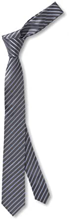 Venti Herren Krawatte, gestreift 001120/100, Gr. one size, Blau (100 hellblau)