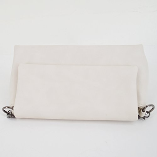 Millya, Borsa a zainetto donna, Grey (Grigio) - bb-01564-01C White