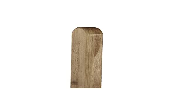 Zaunpfosten Kantholz gekappt kdi grün 9x9cm Länge 90cm