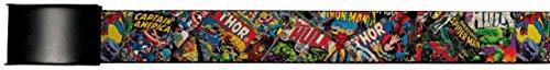 Avengers Marvel Comics Superheroes Comic Cover Collage Web Belt