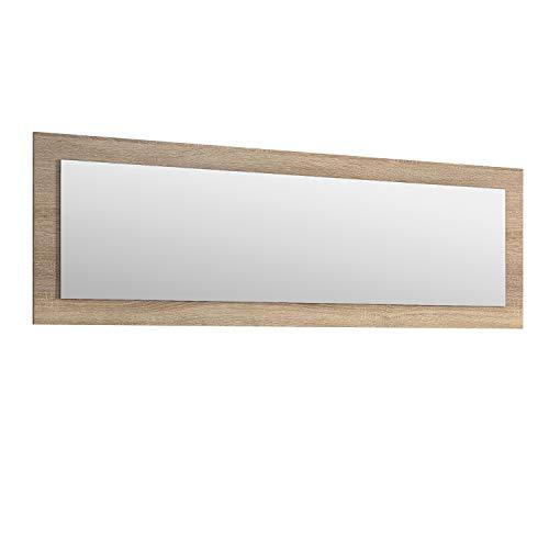 Duehome HomeSouth - Espejo Rectangular, Modelo Julieta, Acabado en Color Cambria, Medidas: 55 cm Alto...