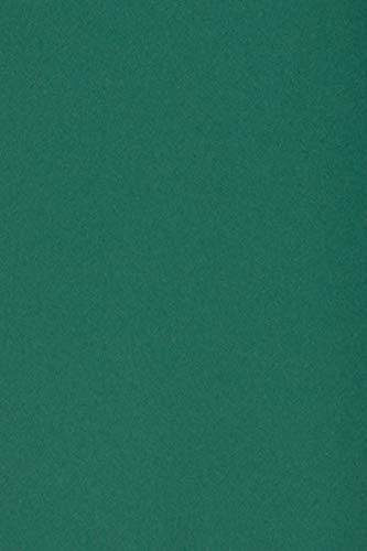 100 x Blatt Dunkelgrün 250g Tonkarton DIN A4 210x297mm Burano English Green - ideal für Karten, Scrapbooking, Basteln und Dekorieren mit Papier, Einladungen, Kunst und Handwerk