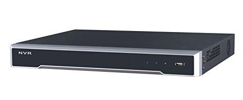 clarer R08-P 8-Kanal PoE (10/100 Mbps) Netzwerk Video Rekorder (NVR), H.265, Aufzeichnungsgerät, Aufnahmegerät, Fernzugriff auf Livebild und Wiedergabe der Aufnahmen durch PC Software und App Netzwerk-video-aufzeichnung