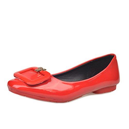 Signore coreano moda e scarpe a punta/Piatte/semplice piatte scarpe d'Inghilterra A