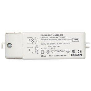 Osram Trafo elektronisch 35-105 Watt ET PARROT für Halogenlampen 12 Volt