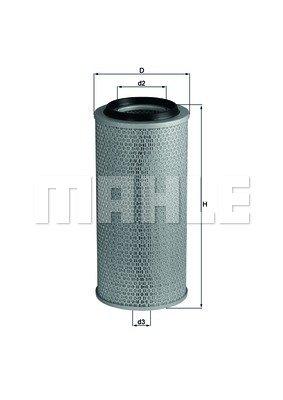 Mahle Knecht LX 236 Luftfilter
