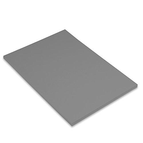 Canson Iris - Cartulina, 50 unidades, color gris plomo