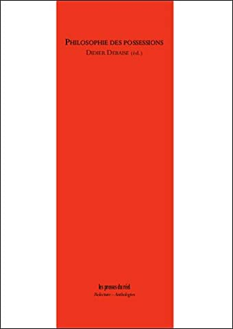 Didier Debaise - Philosophies des