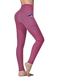 Vimbloom Pantalón Deportivo de Mujer Cintura Alta Leggings para Running Fitness Yoga Leggings VI263