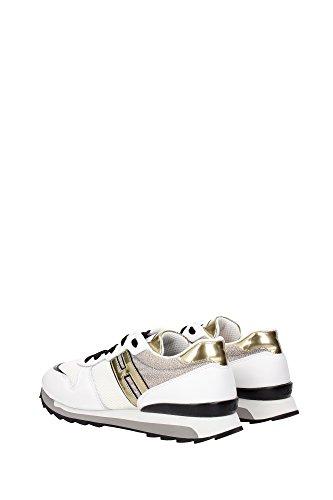 HXW2610Q900C870XE8 Hogan Sneakers Femme Tissu Blanc Blanc