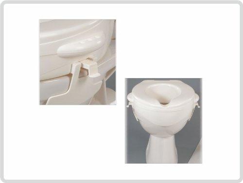 Toilettensitzerhöher Toilettensitz ohne Deckel Rehofix