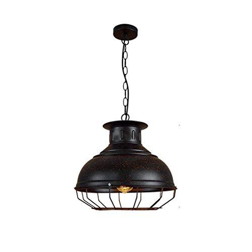 OOFAY LIGHT Industrielle Hängelampe Retro Vintage Stil Pendelleuchte Loft Metall Explosionsgeschützt Kronleuchter Kreative Persönlichkeit Eisen Beleuchtung für Wohnzimmer Café Restaurant E27 Lampen (Explosionsgeschützte Beleuchtung)