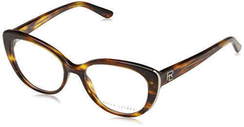 Ralph Lauren Damen 0RL6172 Optische Rahmen, Braun (Striped Havanna), 51