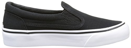 DC Shoes - Trase T B, Sneaker Bambino Nero (Nero (Black/White))