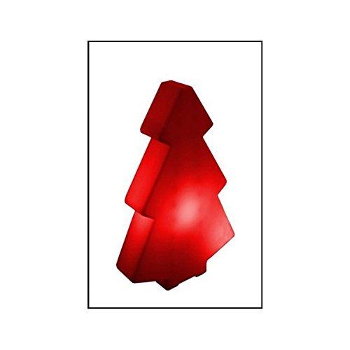 Slide-Albero luminoso per interni, rosso, 45 cm
