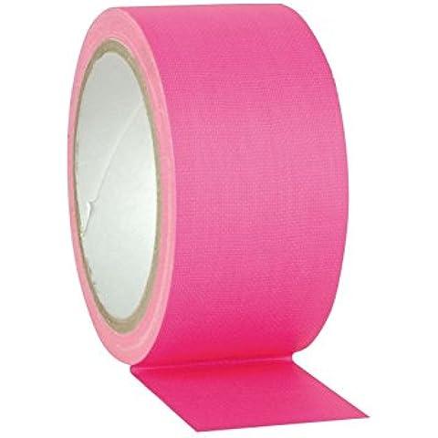 Gaffa nastro rosa neon 25m,