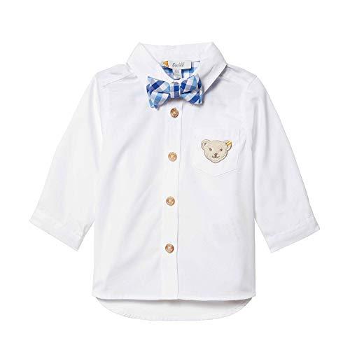 Steiff Baby - Jungen Hemd L001914306, Gr. 86, Weiß (Bright White 1000)