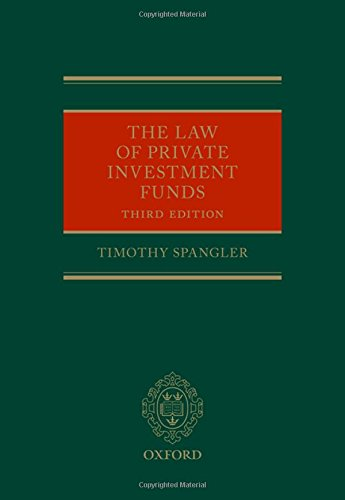 Spangler, T: Law of Private Investment Funds