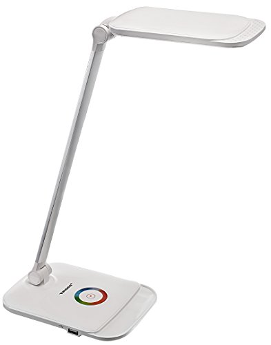 Tiross TS1805 – Schreibtischlampe, 3 Farbtemperatur-Modi, Touch, 5 Stufen dimmbar,...