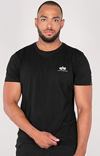 Alpha Industries Basic T Small Logo T-Shirt Schwarz XL