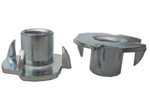 Preisvergleich Produktbild Gartenpirat 500 Einschlagmuttern M10 Stahl für Klettergriffe / Kletterwand / Boulderwand