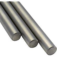 Stahl Rundstahl blank//roh//gewalzt ST37 S235 Rundeisen Rundmaterial Abmessungen /Ø 16 mm L/änge 200 cm