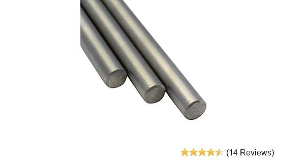 V2A Rundstahl Oberfl/äche geschliffen Edelstahl Stab Stabstahl Rundeisen L/änge 200 cm Abmessungen /Ø 14mm