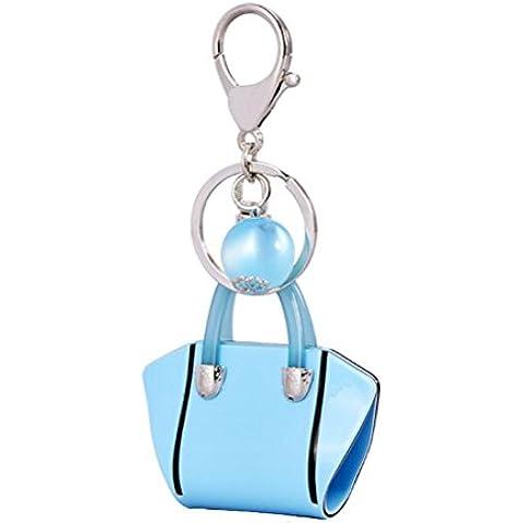 ZPL Ciondolo chiave moda business auto portachiavi , blue , 12*6*7