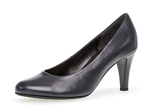 Gabor Damen Pumps 25.310, Frauen Elegante Pumps,Court-Shoes,Absatzschuhe,Abendschuhe,Stöckelschuhe,Ocean,38 EU / 5 UK