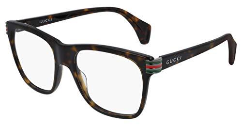 Gucci Brillenrahmen Vista Herren GG0562O Farbe 002 Kaliber 54/18