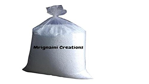 Mrignaini Creations Bean Bag Refill Supreme Grade A High Density 500 Grams beans, 1/2 Kg. White Beans  available at amazon for Rs.280