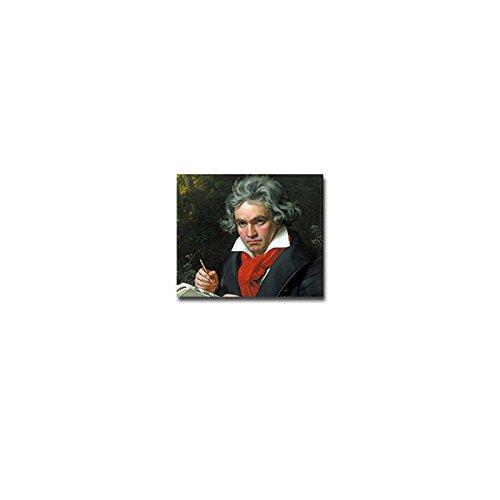 Ludwig Van Beethoven Aufkleber Sticker Künstler Musiker Komponist 8x7cm#A3891
