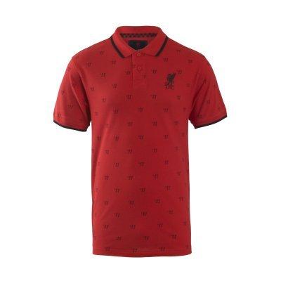 Hombre de Piel de diseño del Liverpool FC para Hombre con Estampado de Melwood Disfraz de Guerrero Polo de Manga Corta Lethal S-XXL