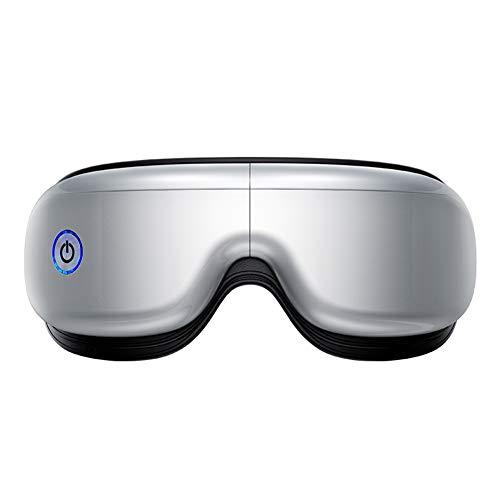 OJKK Elektrische Augenmassagegerät, Augen Massagegerät/5 ModiAugenringe/Wärmefunktion Schönheit Entspannung/Trockene Augen/Fatigue Relief/Schlafgerät
