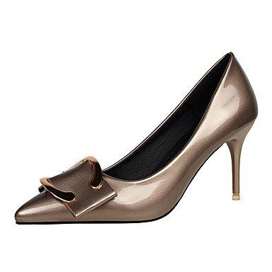 Moda Donna Sandali Sexy donna caduta tacchi Comfort abito in similpelle Stiletto Heel Bowknot più colori disponibili. bronze